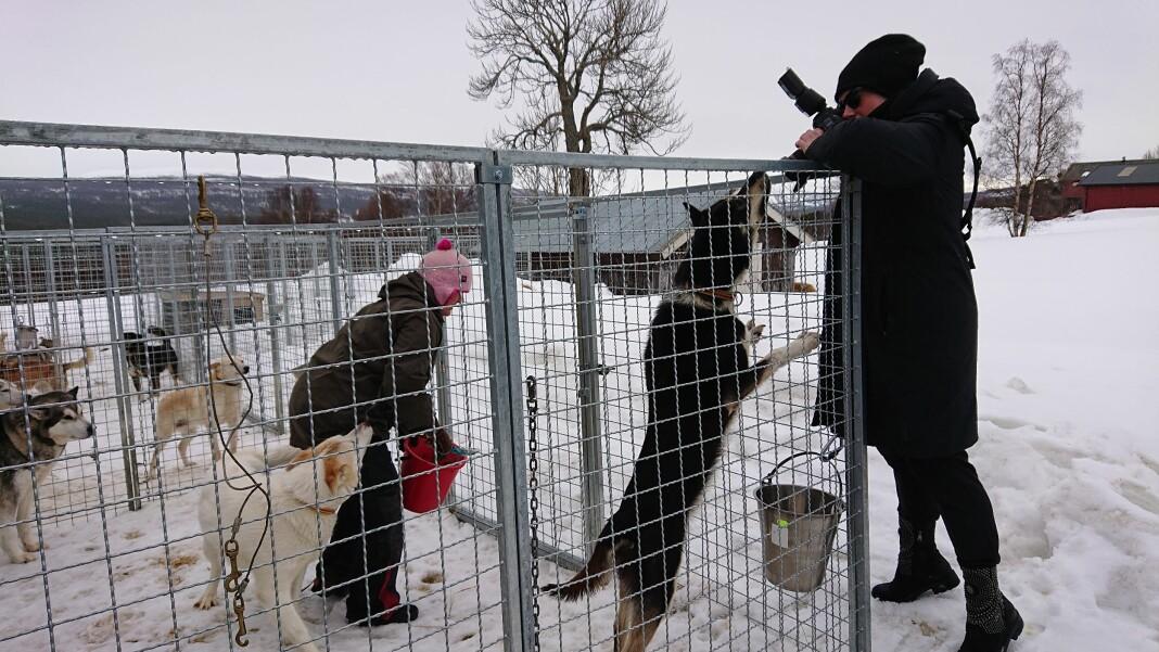 Mariann Dybdahl i Adresseavisen på reportasjetur i Røros, én av kommunene som fortsatt står uten én eneste koronasmittet. – Jeg kjente litt ekstra på det da, som fotograf, sier hun.