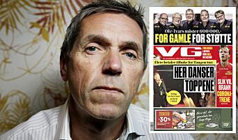 VG bruker Sting-videoen hans: – Ser på begrunnelsen som det reneste sludder