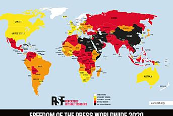 Norge topper fortsatt pressefrihetsindeks