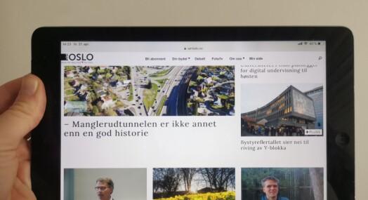 Seks aviser får en halv million kroner hver fra Oslo kommune