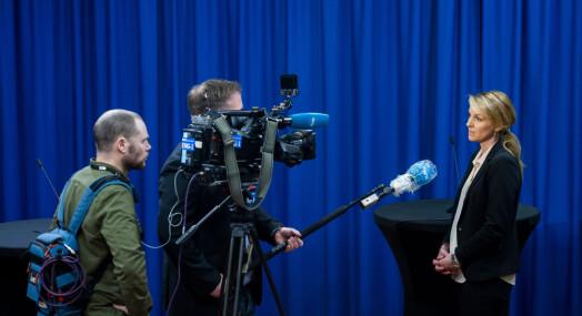 NRK-fotografene bruker én time hver dag på smittevern