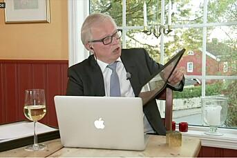 SE TV: Slik gikk det da årets Skup-pris ble delt ut fra Bernt Olufsens stue