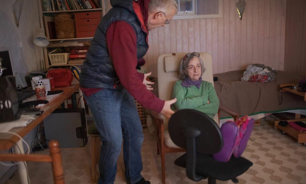 BILDET: Nora Savosnick ville gi et nært og personlig blikk på koronatida fra sin Oslo-karantene
