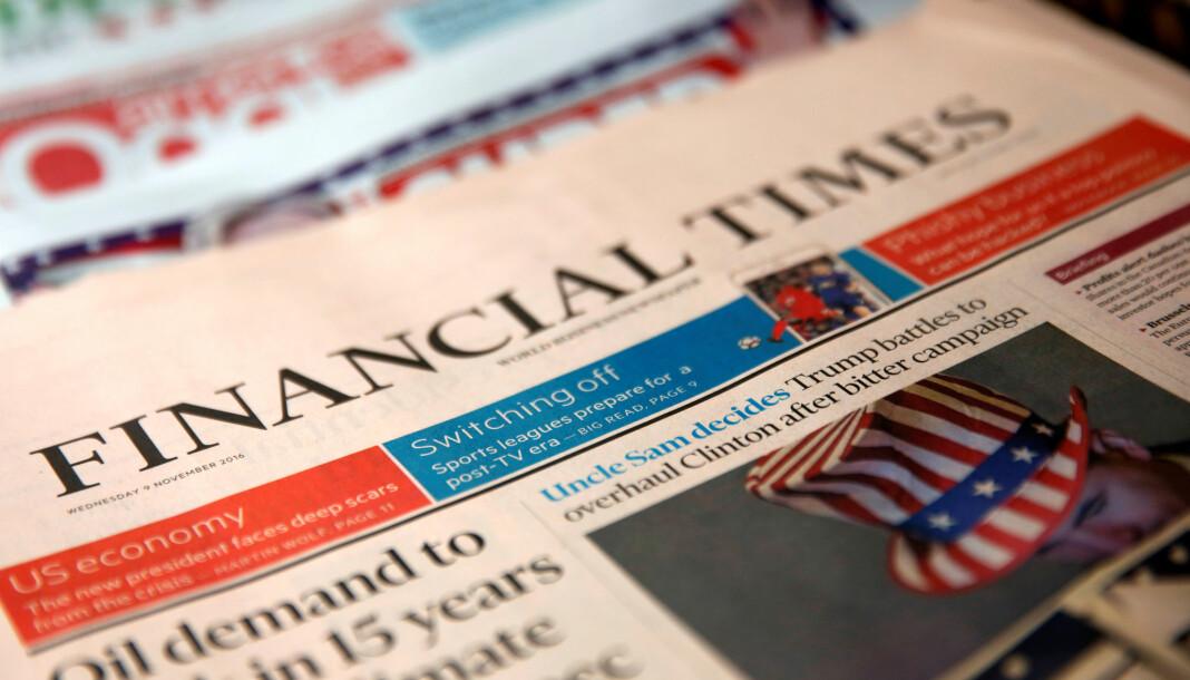 En journalist i Financial Times er suspendert etter at han rapporterte fra lukkede videomøter hos konkurrenter.