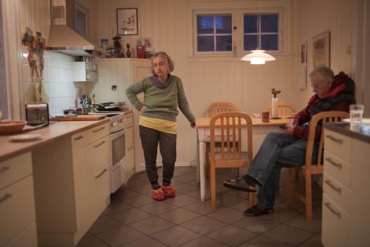 «Mine foreldre, mens de ikke gjør noe spesielt etter middag».