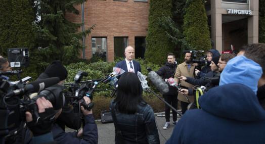 Ivaretakelse av journalisters helse i forbindelse med Hagen-saken
