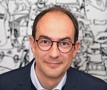 Stian Eisenträger, ansvarlig redaktør i Forsvarets forum.