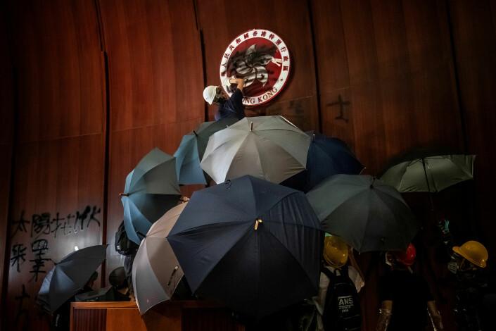 Tyrone Siu ble også belønnet for dette bildet fra Hongkong.