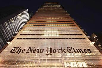 New York Times kaller Trump USAs verste president