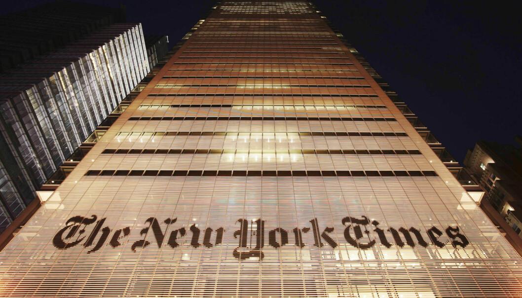 Antall abonnenter øker i rekordfart for New York Times. Ved utgangen av april passerte mediehuset seks millioner abonnenter.