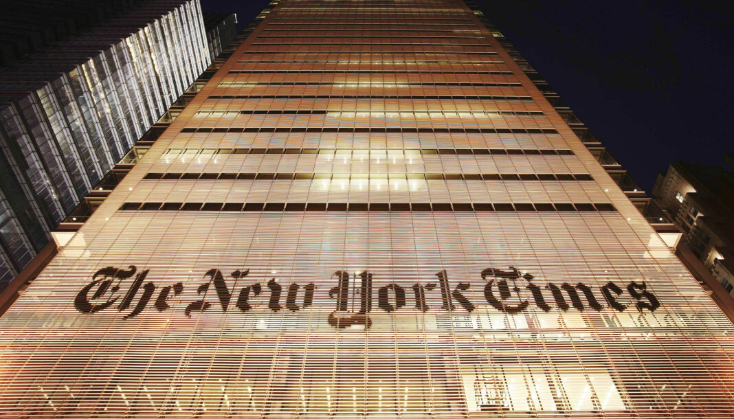 New York Times tar et ramsalt oppgjør med USAs president Donald Trump og ber velgerne kaste han ut av Det hvite hus.