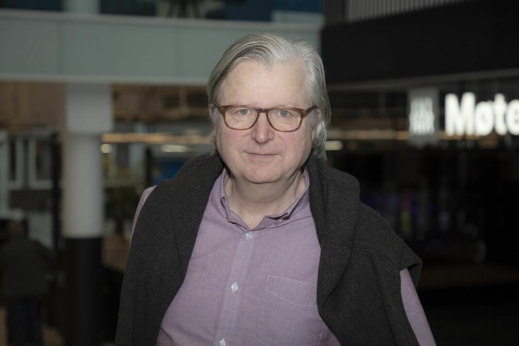 Per Christian Magnus leder Senter for undersøkende journalistikk i Bergen.