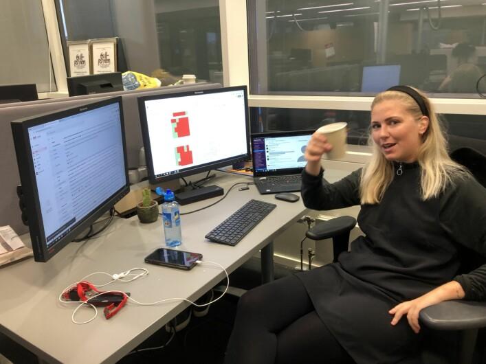 Sofie Amalie Fraser hadde ansvaret for avvik-databasen.