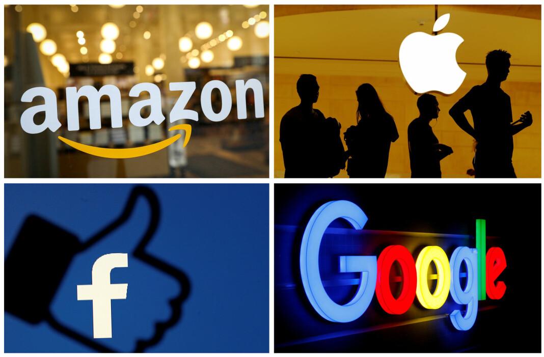 Kritikerne mener den nye loven gjør at detblir opp til selskap som Google, Amazon, Facebook og Apple å avgjøre hvor grensene for ytringsfrihet skal gå.