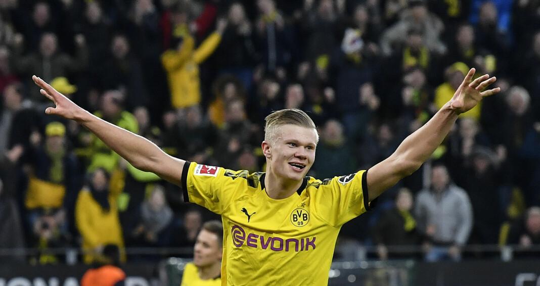 Det blir ikke slike scener når Bundesliga starter opp igjen, med en vegg av tilskuere bak jublende spillere. Tyske TV-seere kan likevel velge lydspor med tribunelyd framfor den ekte følelsen av «spøkelseskamper».