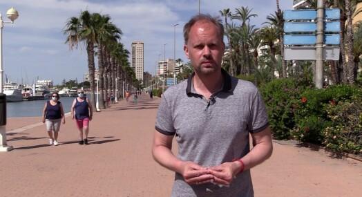 NRK brukte flere uker på å komme inn i Spania: – Presset på i alle kanaler
