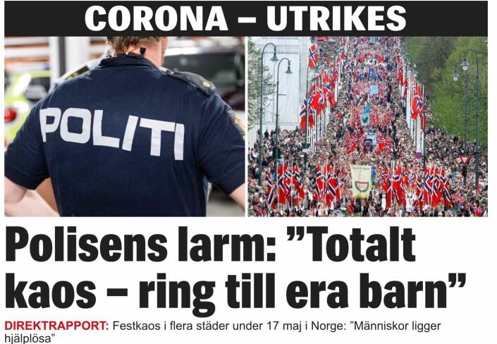 Reaksjoner på Expressen-oppslag: – Misvisende journalistikk