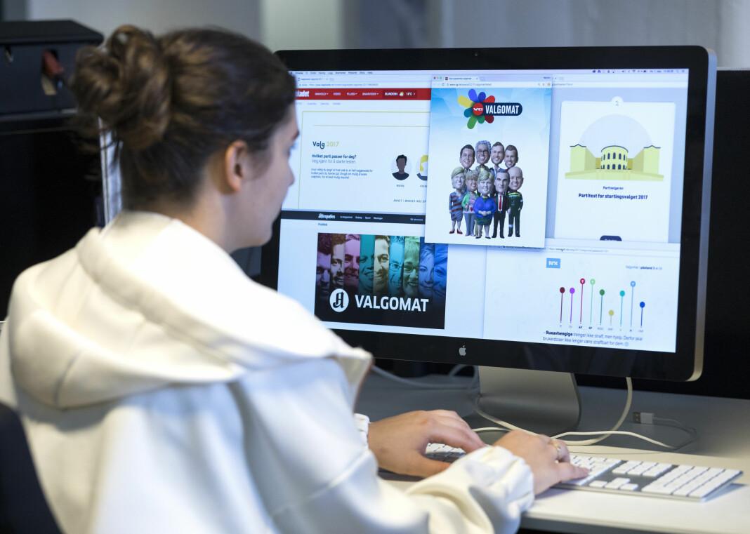 Andelen lesere av papiravisenes nettsider er nå dobbelt så stor som andelen som leste papiraviser, 55 mot 27 prosent.