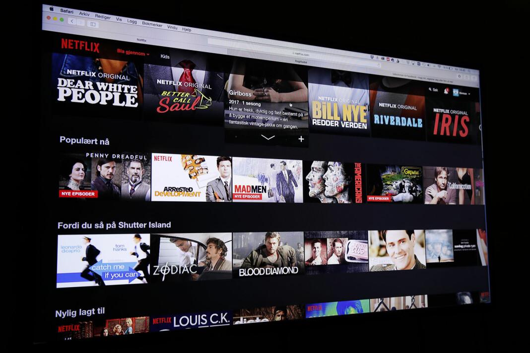 Netflix og andre videotjenester tar seere og markedsandeler fra vanlig lineært TV.