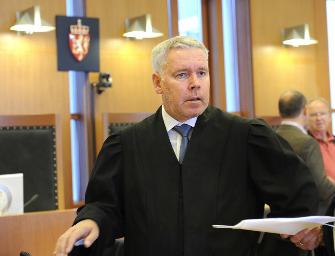 VGs artikkel om Per Sjong Larsen er klaget inn til PFU. Dette bildet fra retten er tatt i 2014.