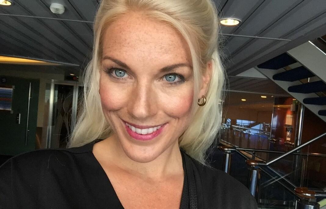 Trine Melheum Næss i TV 2 vant sammen med flere nylig Skup-diplom for en avsløring om kunstgressbaner.