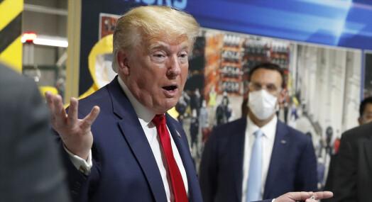 Enkemann trygler Twitter om å slette Trumps «ondskapsfulle løgn»