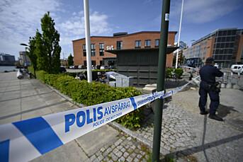 SVTs lokaler i Malmö ble evakueret