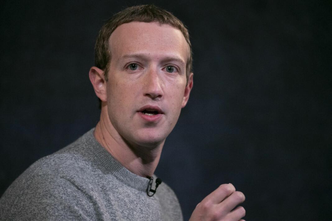 Facebook-sjef Mark Zuckerberg mener trusselen om sensur ikke er den rette reaksjonen til en regjering som er bekymret for sensur.