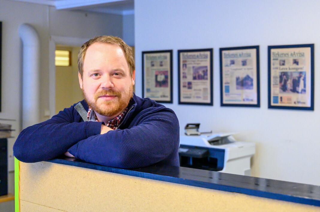 Geir Willy Haugen er redaktør i Birkenesavisa.