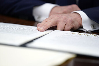 Trump vil fjerne lov som beskytter sosiale medier