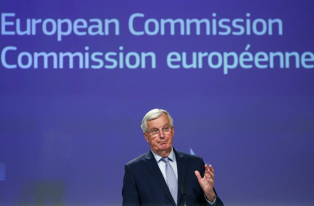 Ingen land har flere EU-akkrediterte journalister i Brussel enn Storbritannia. I EU-hovedstaden kan de blant annet få med seg pressekonferansene til EUs brexitforhandler Michel Barnier.