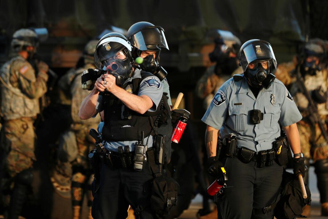 Flere journalister skal ha opplevd at politiet i Minneapolis skjøt direkte mot dem.