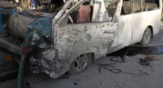 Bombeangrep mot TV-ansatte i Kabul