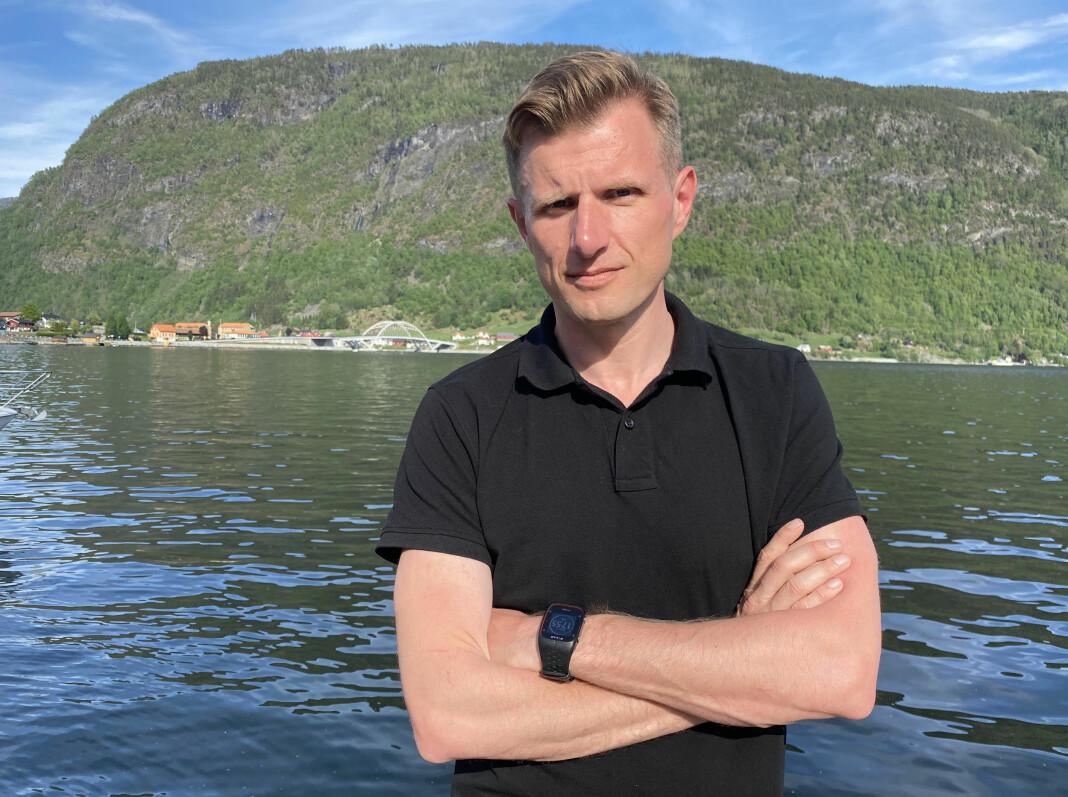 «Der ingen skulle tru at nokon kunne bu»-programleder Arve Uglum ble ny toppsjef i Sogn Avis.