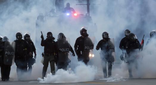 Over 100 politiangrep på pressefolk i USA