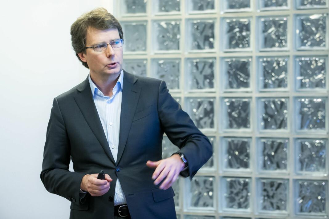 51 prosent av aksjene i Sunnhordland eies nå av Polaris Media. På bildet konsernsjef Per Axel Koch.