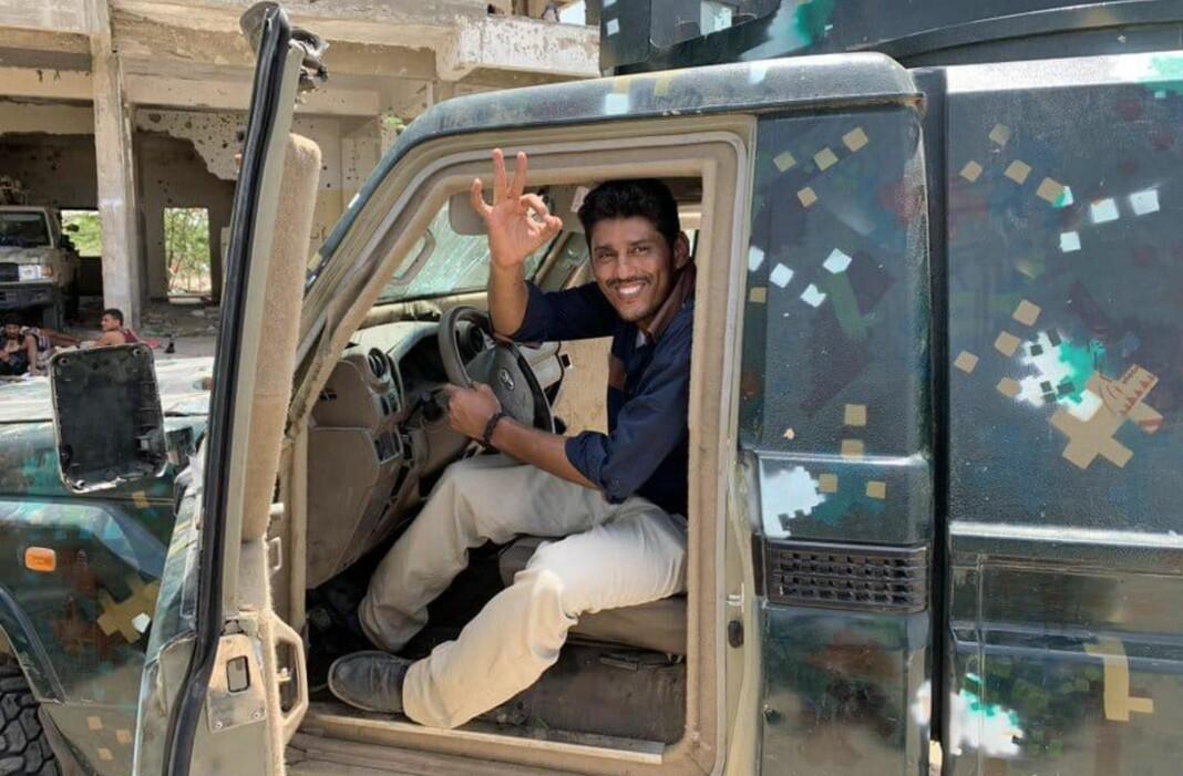 Journalisten Nabil al-Quaety ble drept av væpnede menn i nærheten av sitt hjem i Aden. Han etterlater seg tre barn og en gravid kone.