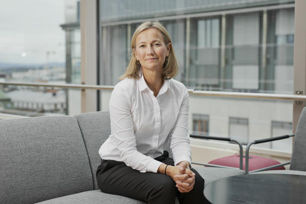 – Det er som ventet at resultatet går ned, sier Siv Juvik Tveitnes, konserndirektør for Schibsteds nyhetsmedier.