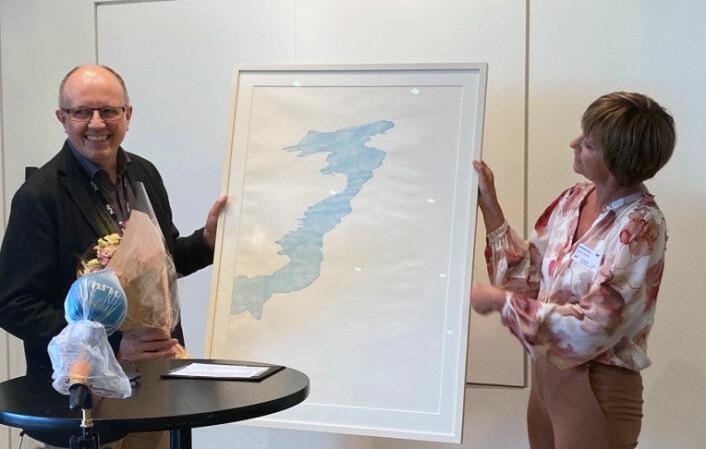 Nynorskpris til NRK-journalist Eivind Molde