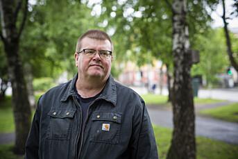 Rolf Johansen, leder av Norsk Journalistlag i NRK.