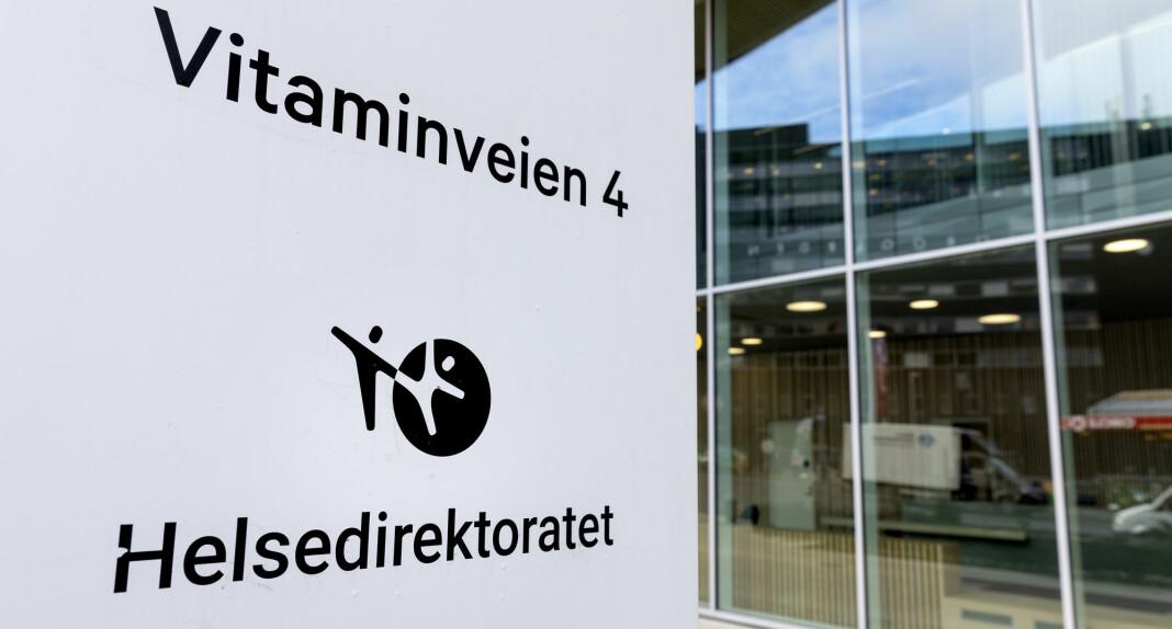 Helsedirektoratet oppdaterer heretter oversikten over koronapasienter kun i hverdagene.