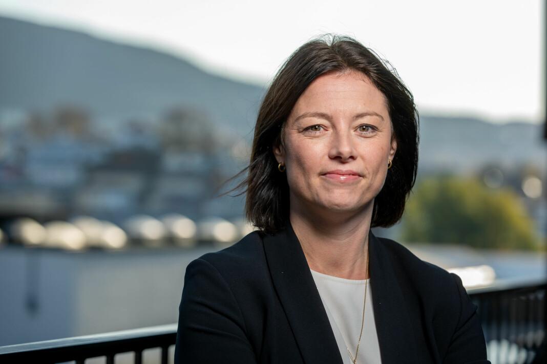 – Den nye visuelle identiteten skal representere et sammensatt Norge, sier Sarah Willand, organisasjons- og kommunikasjonsdirektør i TV 2