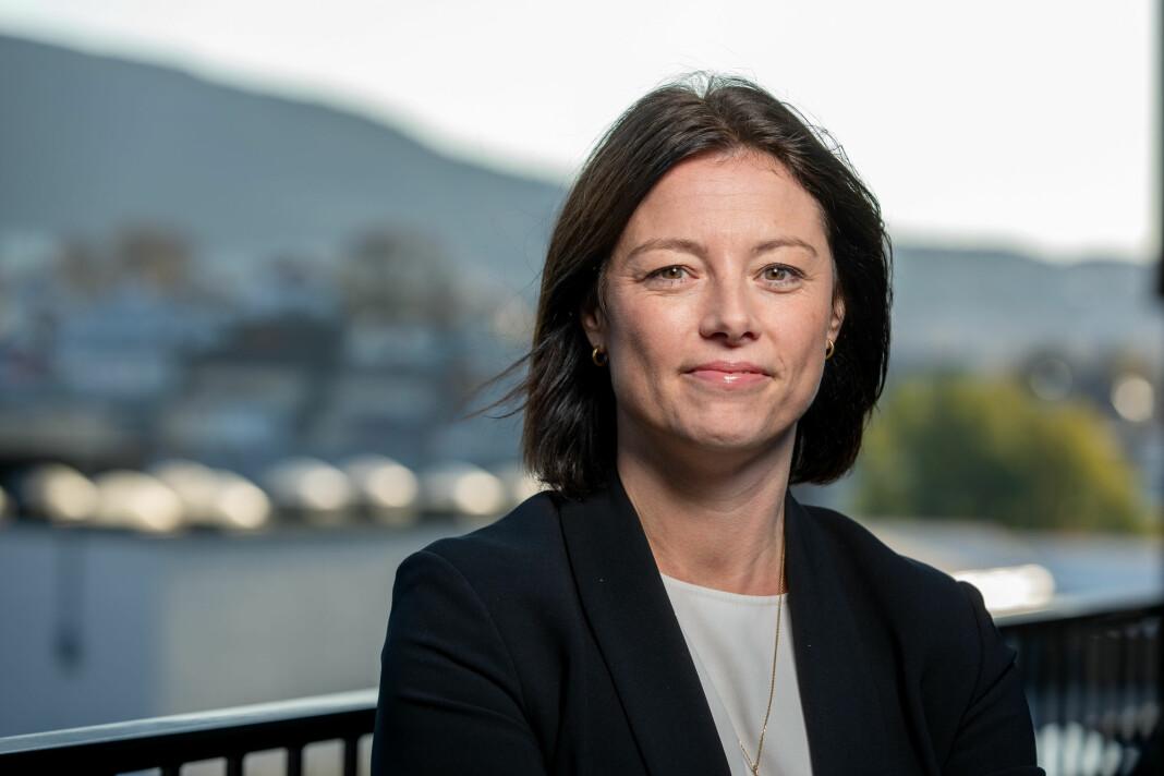 Organisasjons- og kommunikasjonsdirektør Sarah Willand i TV 2 vil at Telia/Get skrur på TV 2-signalene igjen.