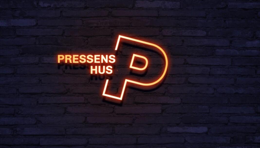 Ragnhild Mellbye har utformet den nye logoen til Pressens hus.