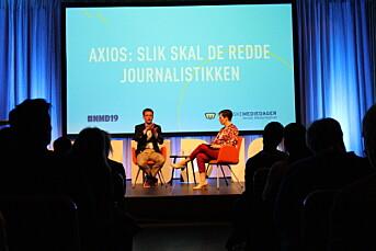 Axios nekter ikke journalister å delta i demonstrasjonene