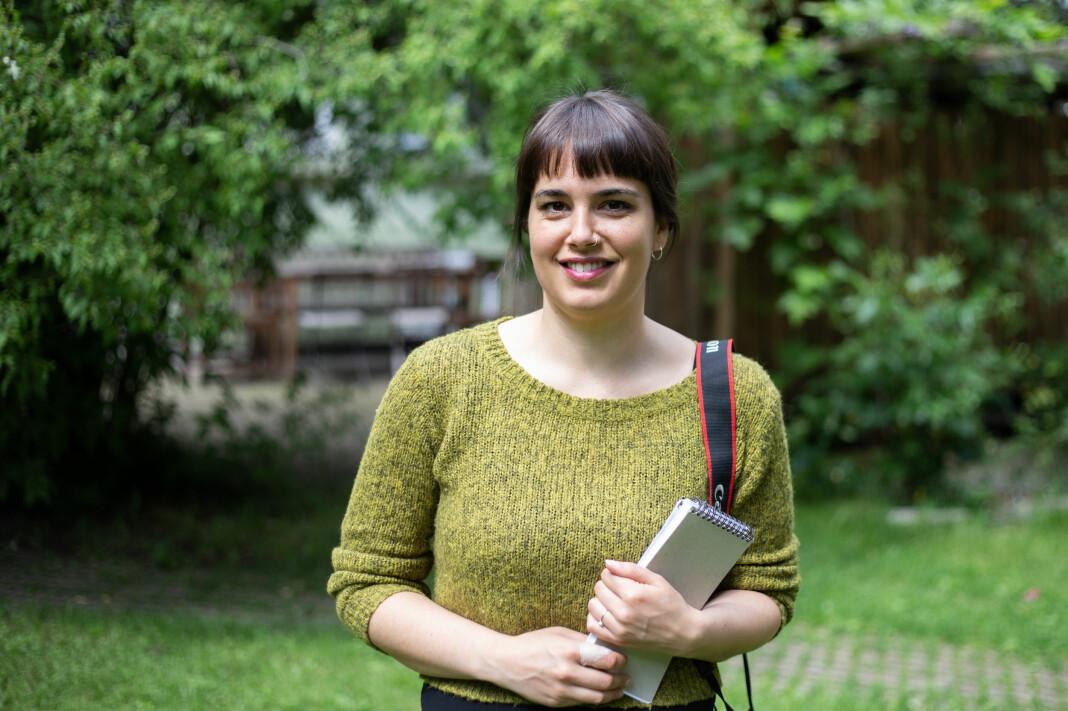 Morgane Fauconnier ser fram til å bli enda bedre kjent med bransjen og journalistikken, som sommervikar i Journalisten.