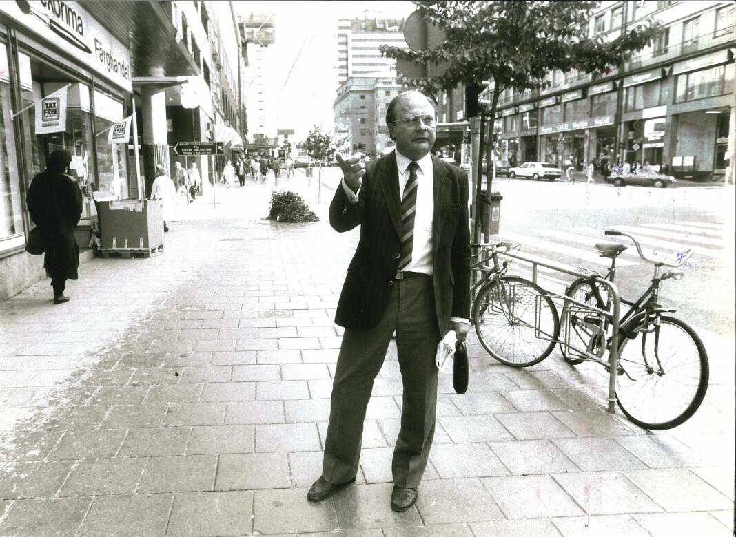 I 2018 kom journalist Thomas Petterson med boka «Den osannolika mördaren». Der peker han på Stig Engströms (bildet) som Palmes drapsmann.