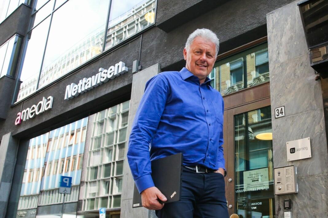 Nettavisen og toppsjef Gunnar Stavrum dropper gamle ordninger med fast arbeidstid og -sted.
