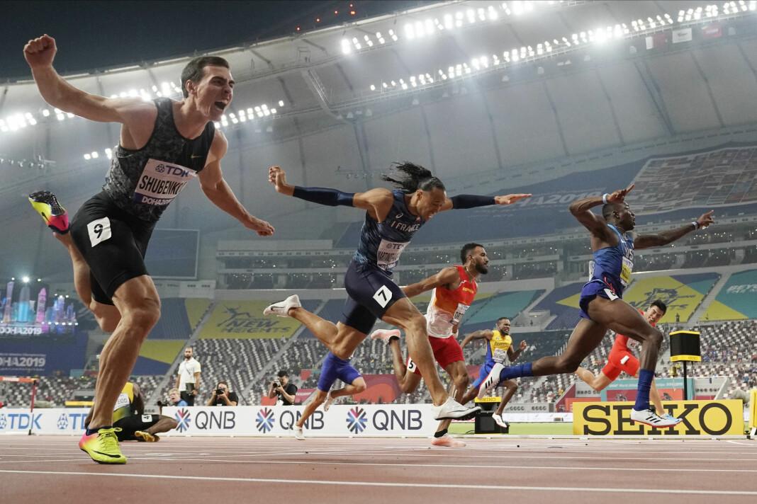 – Sportsjournalistikken er ukomplett uten en emosjonell komponent, mener Emil L. Mohr. Bildet er fra VM i Doha i 2019.