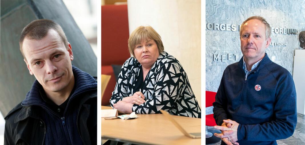 Håvard Melnæs, Elin Floberghagen og Pål Bjerketvedt er sentrale personer i en heftig debatt om presseetikk, PFU-behandling og kildevern.